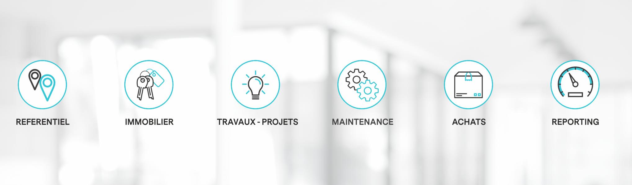 Offre logiciel modulaire gestion immobiliere et projets